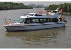 Aqualand 42 Feet 12m Water Taxi Ferry Boat/Pilot Boat/Fiberglass Motor Cabin Boat (aqualand 1280) pictures & photos