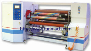 Furimach Automatic BOPP Adhesive Tape Rewinding Machine/Stretch Film Jumbo Roll Rewinder Machinery/PE/PVC/Masking Tape/Roll Paper/Kraft/PE/PVC pictures & photos