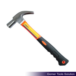 British Type Claw Hammer with Fiberglass Handle (T05174)