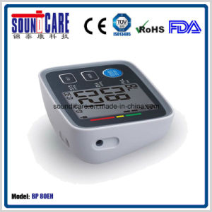 Large LCD Smart Digital Arm Blood Pressure Monitor (BP 80EH) with Who Indictor pictures & photos