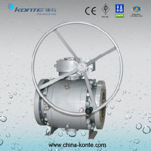 Side Entry Trunnion Mounted Ball Valve pictures & photos