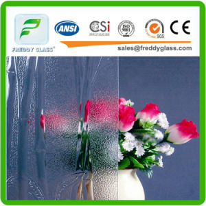 Clear Bamboo Patterned/Rolled/Figured Glass for Furniture/Window/Door/Bathroom/Meeting in Top Quality pictures & photos