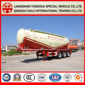 38cbm Bulk Cement Tanker Semi Trailer Concrete Powder Tank Trailer
