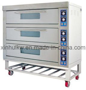 3-Decks Stainless Steel Infrared Baking Oven with CE pictures & photos