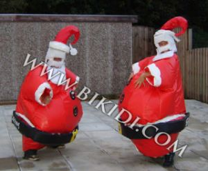 Sumo Suits Wrestling Santa Claus for Christmas (B6007) pictures & photos