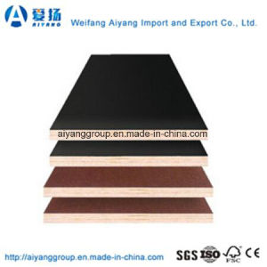 Construction Grade 18mm Brown/Black Film Faced Plywood pictures & photos