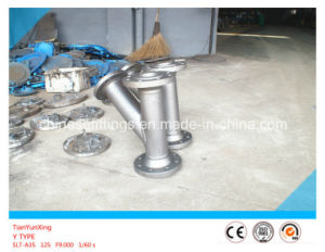 Y Type Stainless Steel Strainer with Flanged End pictures & photos