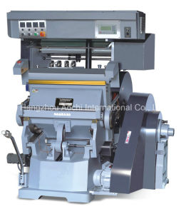 Program Control Foil Stamping and Cutting Machine (TYMX-750) pictures & photos