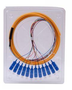 Sc/Upc Sc/APC Optical Fiber Jumper- Fiber Optic Plug pictures & photos