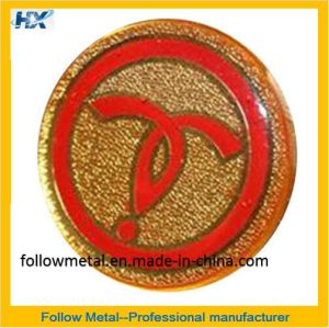 Badge with Gold Plated 10