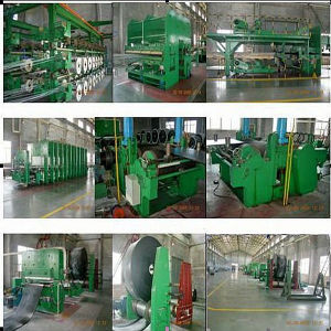 Rubber Belt Press / Conveyor Belt for Rubber Raw Material Machinery pictures & photos