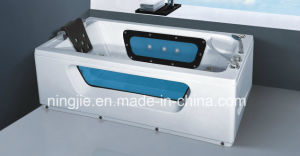 Acrylic Whirlpool Massage Bathtub with The Bubble Nj-3022 pictures & photos