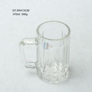 Hot Selling 370ml Glass Beer Mug Made in China pictures & photos
