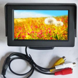 "4.3"" TFT LCD 2AV Car Monitor pictures & photos"