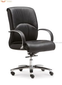 Ergonomic Middle Back Office Swivel Chair for Office Furniture pictures & photos
