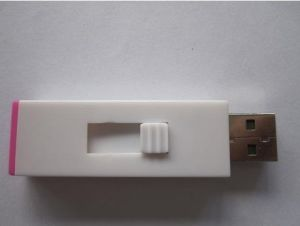 Push and Pull 1GB-32GB USB 2.0 Plastic USB Flash Drive (OM-P123) pictures & photos