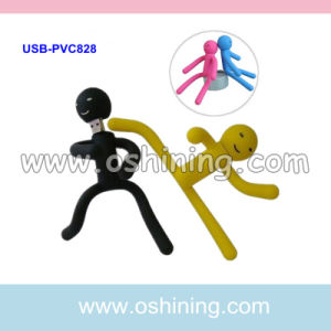 Human Shape Silicon USB Flash Memory Drive (USB-PVC828)