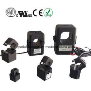 Split Core Clip on Current Transformer Sensor 80A/26.6mA for Energy Monitoring pictures & photos
