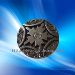 Customized Shank Button with Stone pictures & photos
