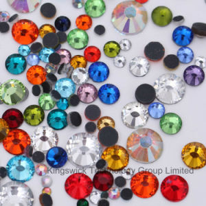 World Stone DMC Hot Fix Rhinestone Iron on Hotfix Crystal pictures & photos