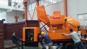 Towable Diesel Engine Concrete Pump with Mixer pictures & photos