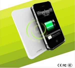 New Arrival Portable Wireless Phone Charger for iPhone 4/4s, Samsung I9300, etc