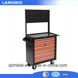 Heavy Duty Rolling Tool Trolleys Ball Bearing 7 Drawers and Backplate pictures & photos