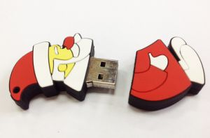 USB Soft PVC Cheap USB Flash Drive Custom Pendrive pictures & photos