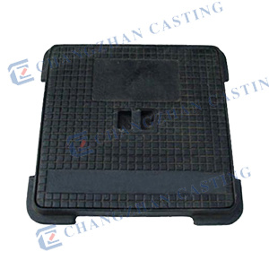 Heavy Duty Manhole Cover with Hinge pictures & photos