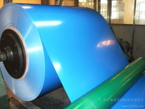 Thickness 1.0mm Color Coated Aluminum Coil for Building pictures & photos