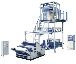 PE (polyethlen) Hot Shrink Film Blowing Extrusion Machine pictures & photos