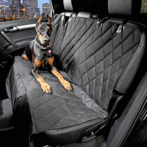 Adjustable Waterproof Back Bench Pet Travel Barrier 600d Oxford Car Interior Car Dog Seat Covers pictures & photos