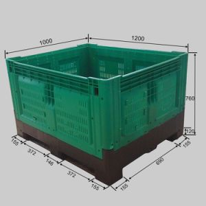 1200*1000*760mm Closed Body Bulk Container Big Bins pictures & photos