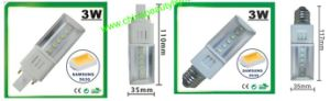 LED 3W LED Light LED G24 Pl Lamp pictures & photos