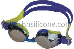 Silicone Swimming Goggle (HH-G203M)