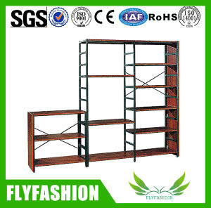 Cheap High Quality Metal&Wood Library Bookshelf (ST-36) pictures & photos