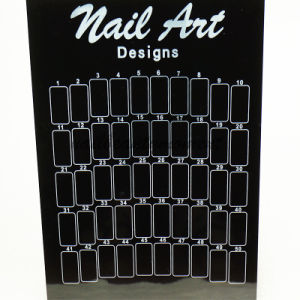 Art Nail Color Displayer Chart in Black /White Color (NT22) pictures & photos