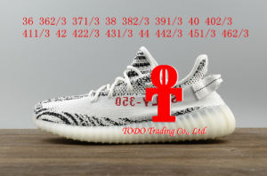 Footwear Sneakers Addas Yeezy Boost 350V2 Real Boost Core Black Red Running Shoes Size 36-46 pictures & photos