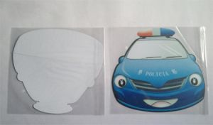 Ultra Thin Mouse Pad with PP Hard Surface pictures & photos