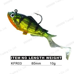Big Head Lead Fish Lure (KFR) pictures & photos