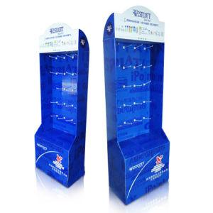 Supermarket Cardboard Merchandising Displays, Custom Cardboard Floor Display Stands pictures & photos
