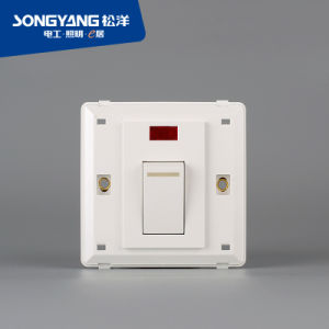Flame Retardant PC Plastic Series 45A Switch pictures & photos