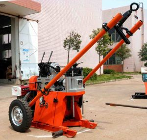 Portable Water Well Drill Rigs for Sale 200m Depth pictures & photos