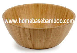 Bamboo Salad Bowl Serving Bowl pictures & photos