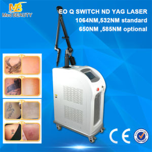 Medical Q Switched Ndyag Laser for Tattoo Removal Machine (C6) pictures & photos