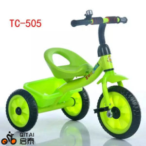 Hot Selling Best Safety Cheap Price Kids Push Trike Children Tricycle for Baby, Metal Frame, EVA / Air Tyre Baby Tricycle pictures & photos
