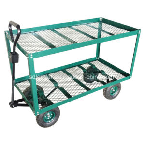 China High Quality 2 Shelf Garden Cart TC1809 China Garden