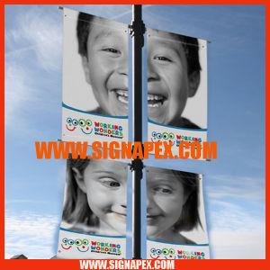 High Quality Blockout Black Back Flex PVC Frontlit pictures & photos