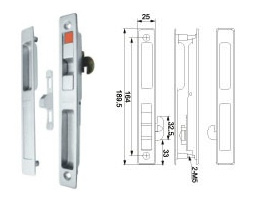 Window Lock (WL-22) for Aluminum Sliding Window pictures & photos