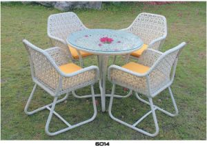 Tea and Dining Table and Garden PE Rattan Furniture pictures & photos